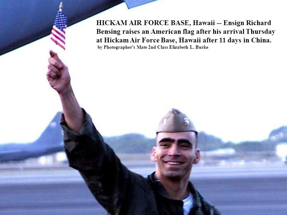 HICKAM AIR FORCE BASE, Hawaii -- Ensign Richard