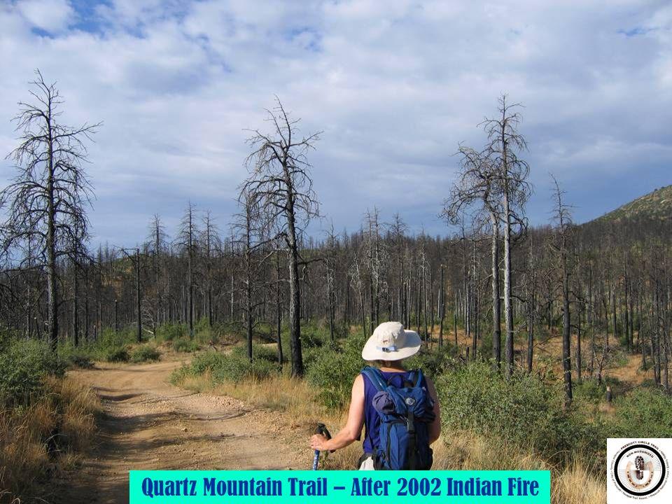 Quartz Mountain Trail – After 2002 Indian Fire