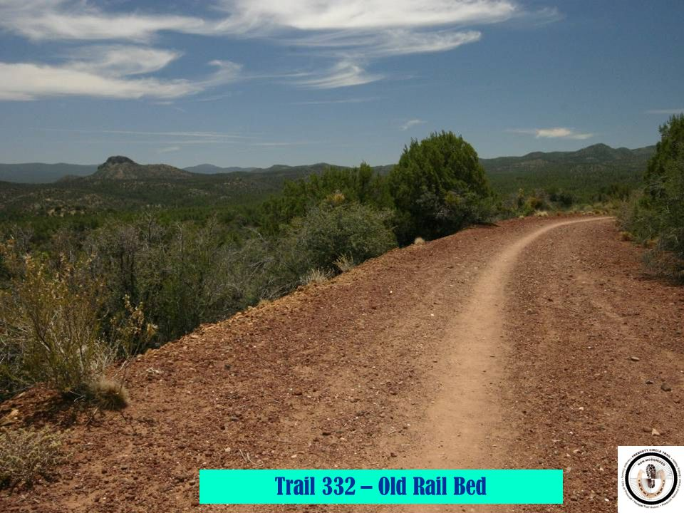 Trail 332 – Old Rail Bed