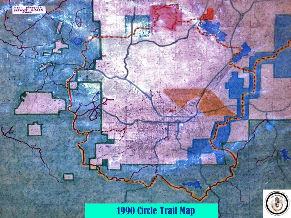 1990 Circle Trail Map
