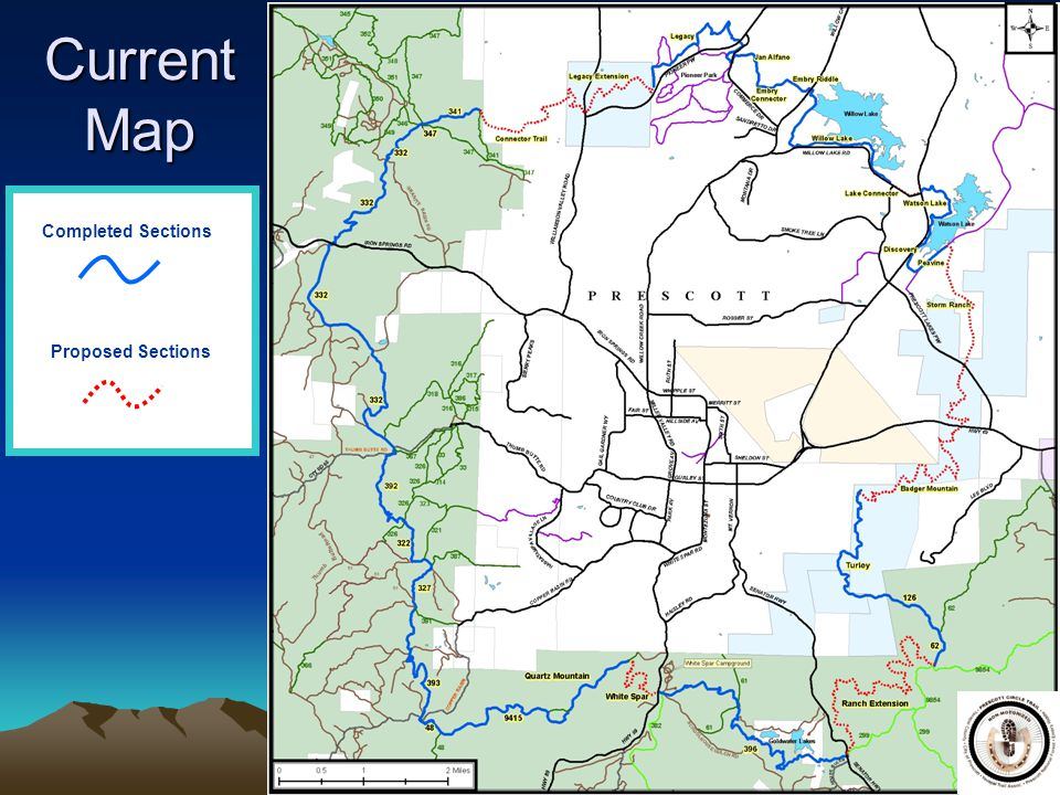Current Map Completed Sections Proposed Sections