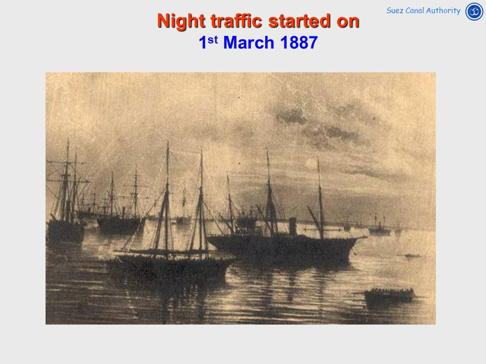 Night traffic started on