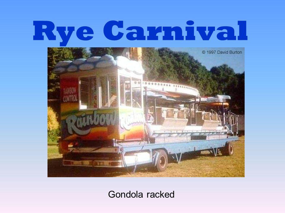 Rye Carnival Gondola racked