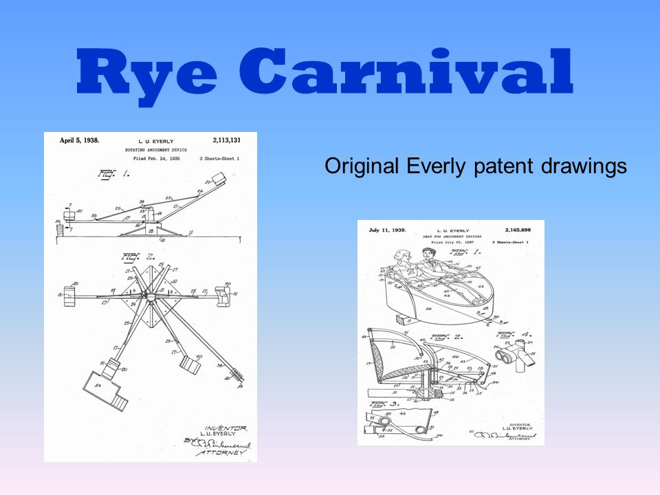 Original Everly patent drawings