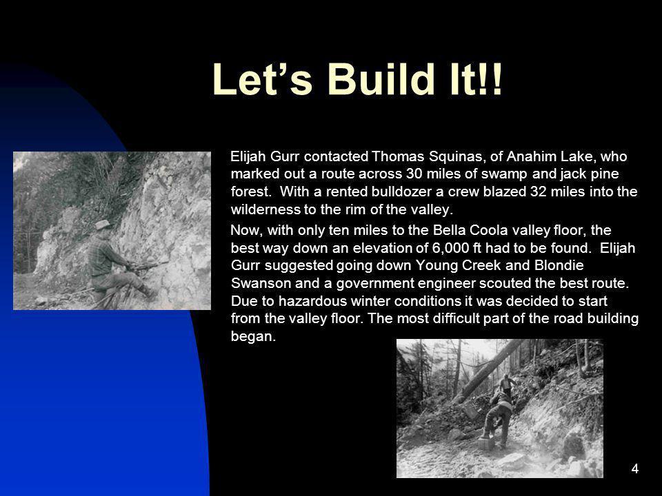 Let's Build It!!