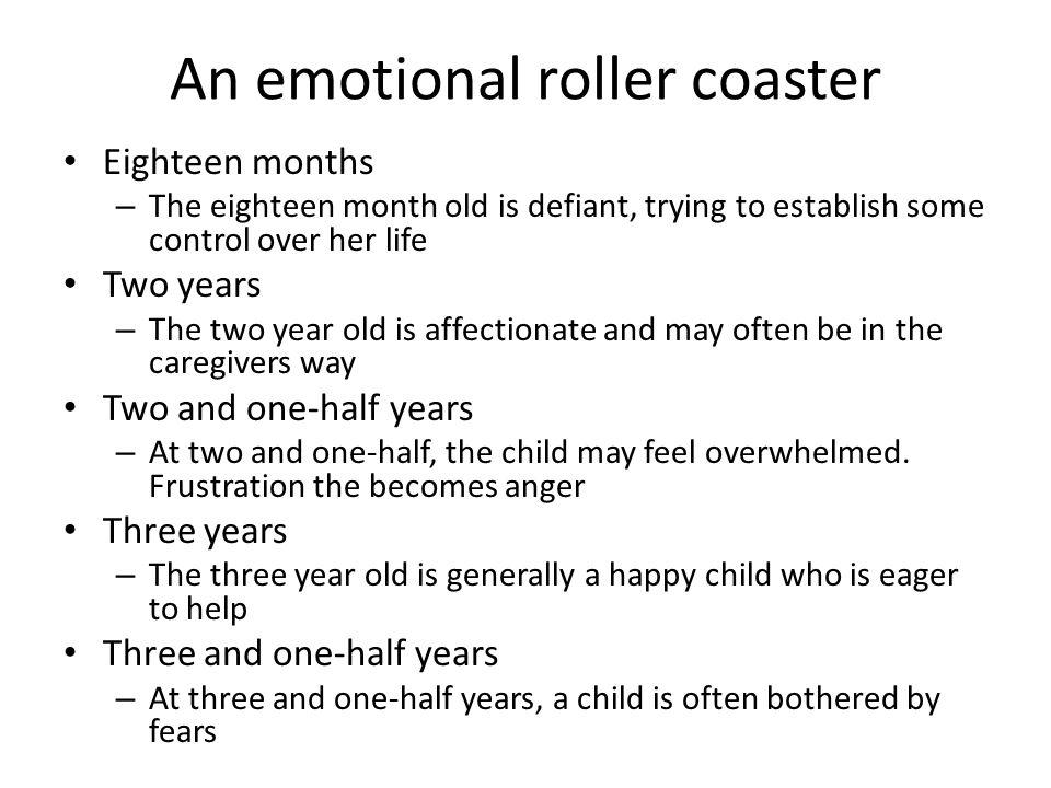 An emotional roller coaster