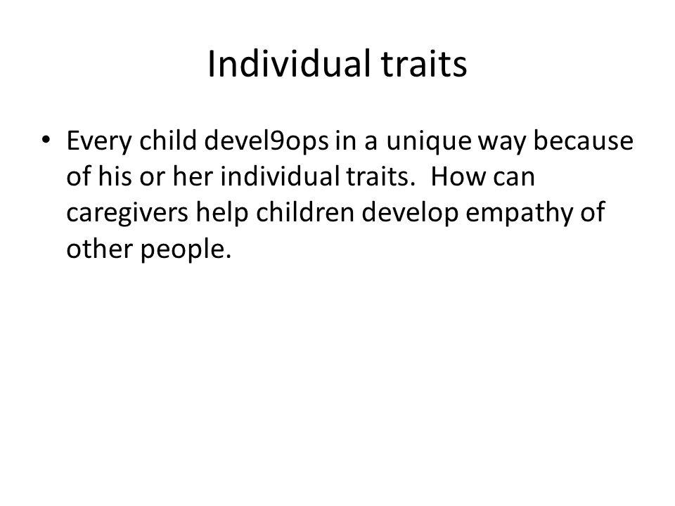 Individual traits