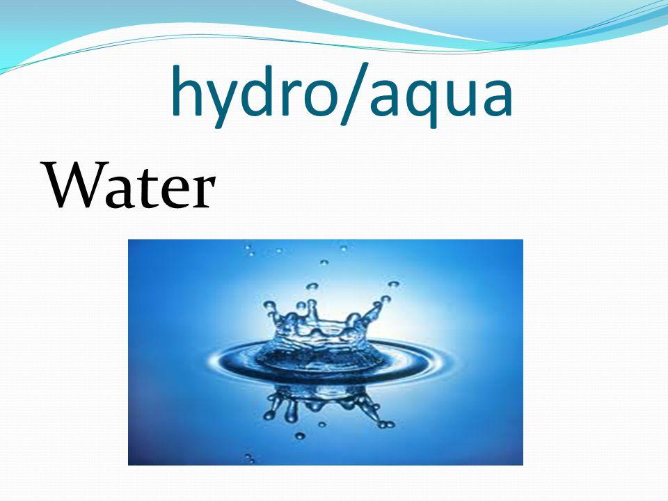 hydro/aqua Water