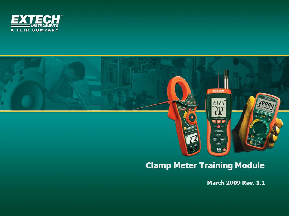 Clamp Meter Training Module