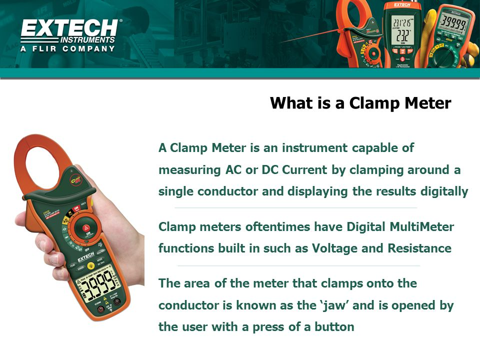 What is a Clamp Meter