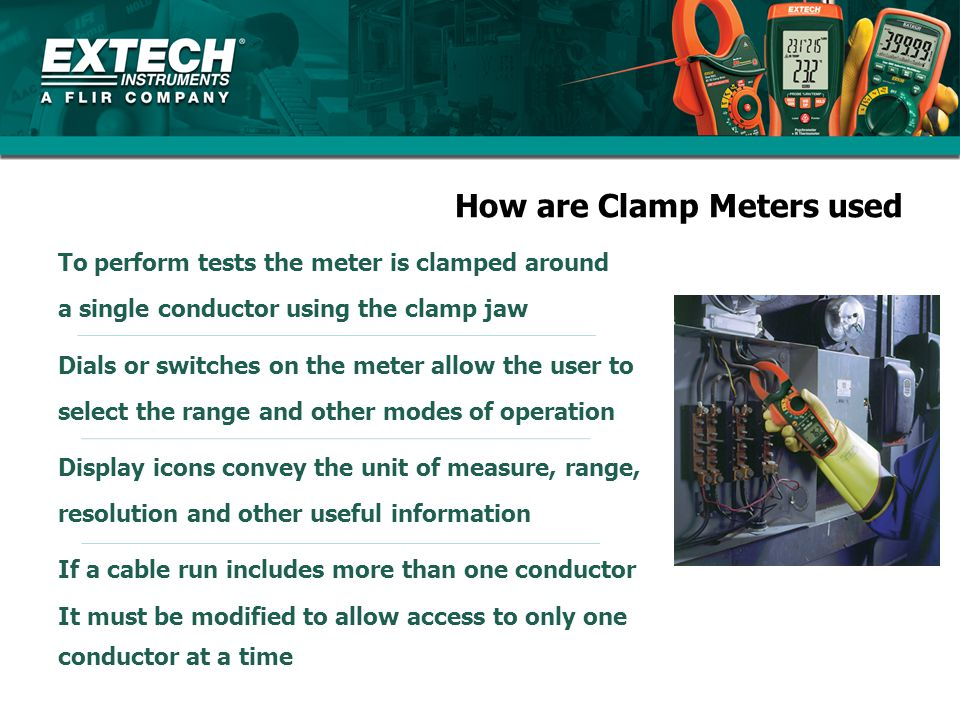 How are Clamp Meters used