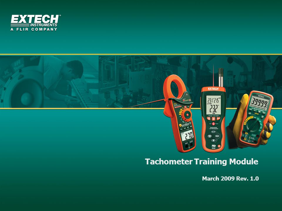 Tachometer Training Module