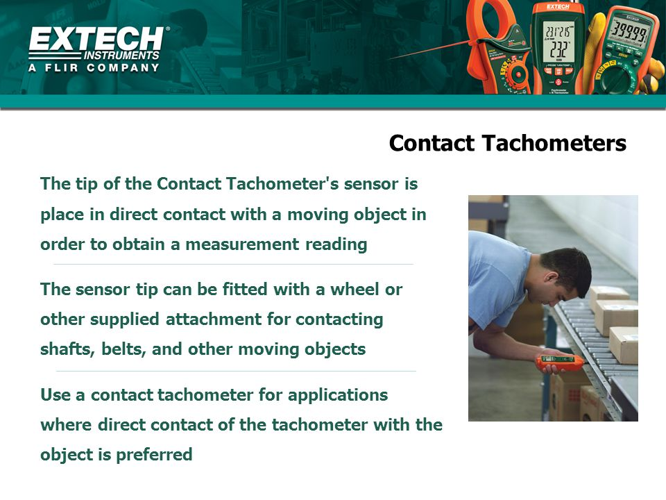 Contact Tachometers