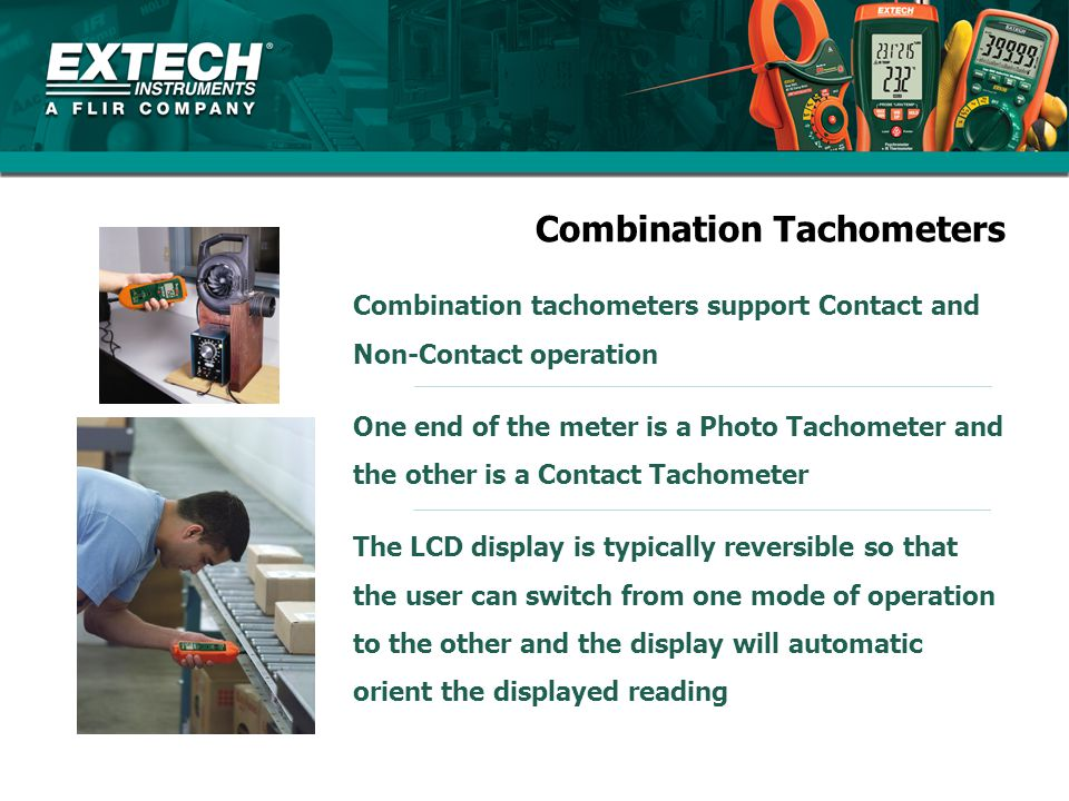 Combination Tachometers