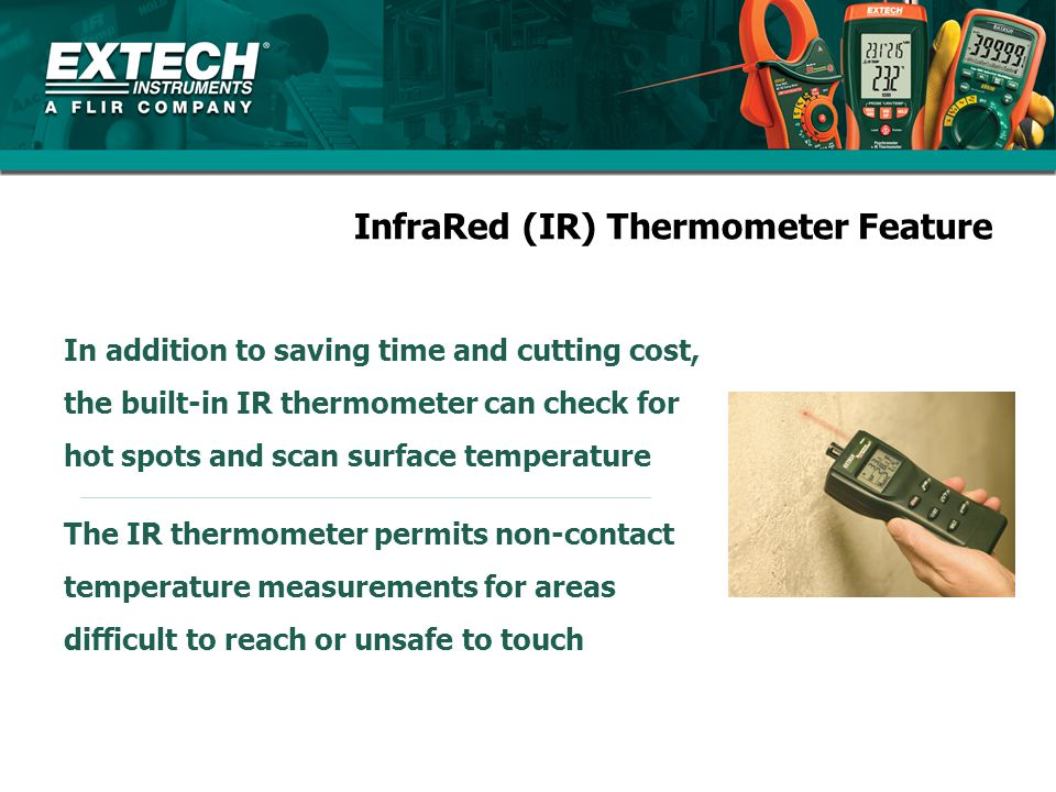 InfraRed (IR) Thermometer Feature