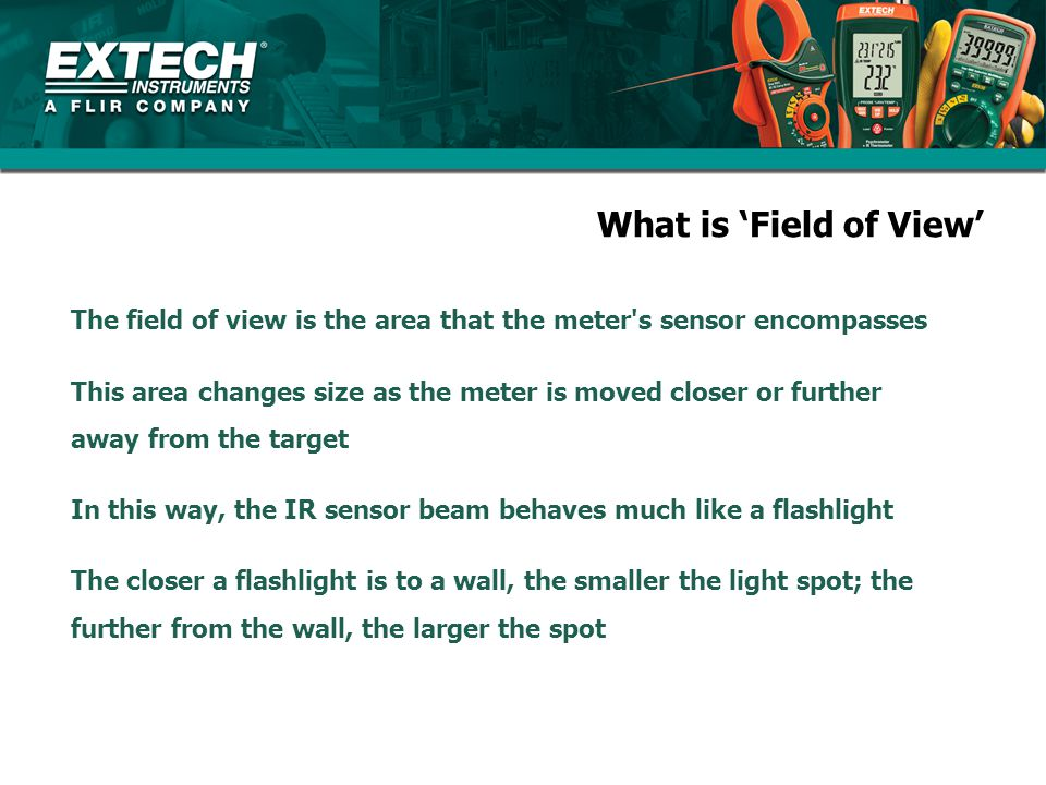 What is 'Field of View'