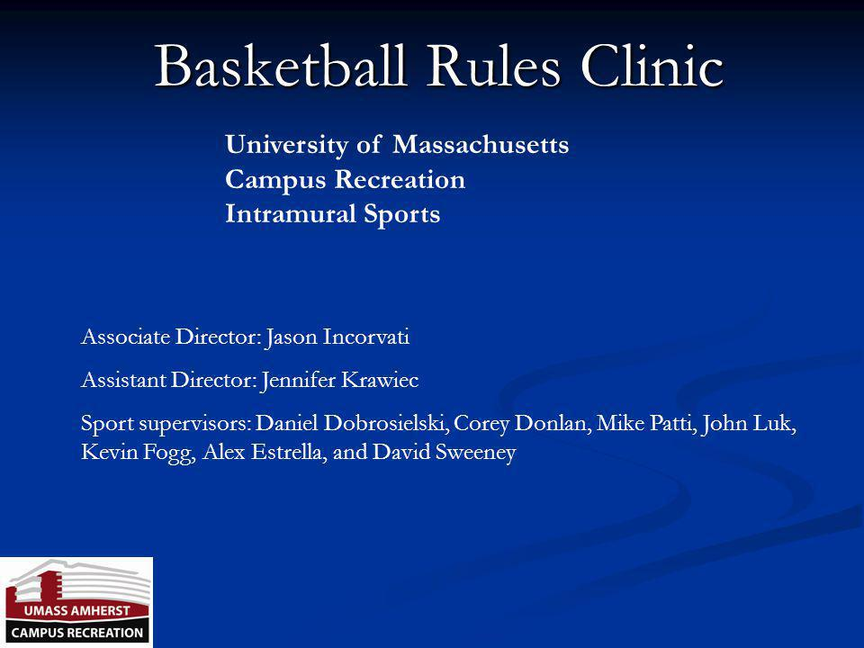 Basketball Rules Clinic