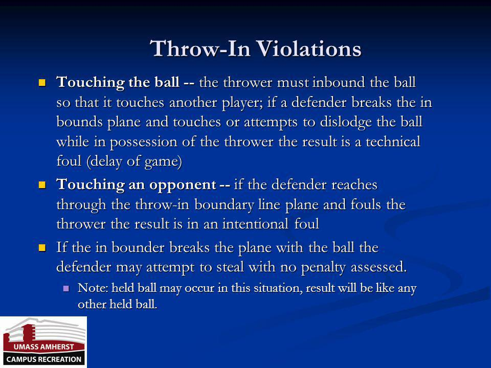 Throw-In Violations