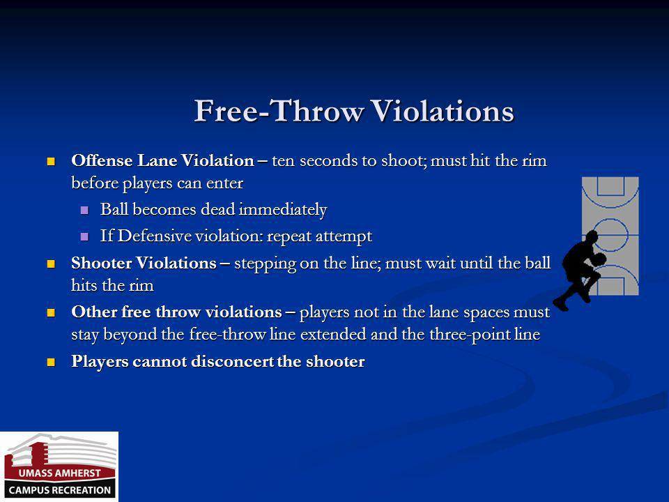 Free-Throw Violations