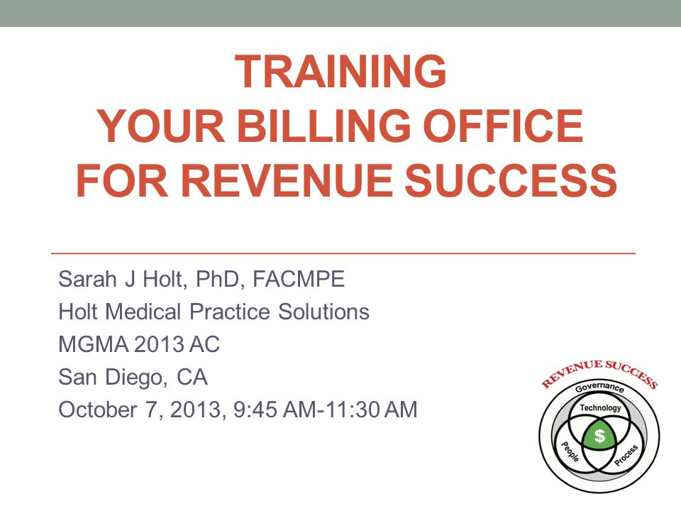 Training Your Billing Office for Revenue Success