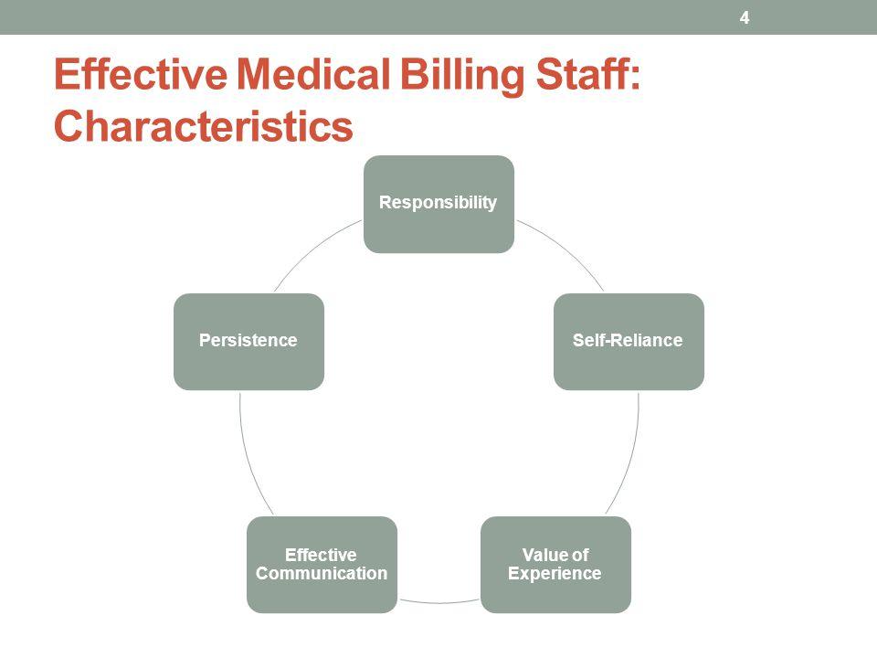 Effective Medical Billing Staff: Characteristics