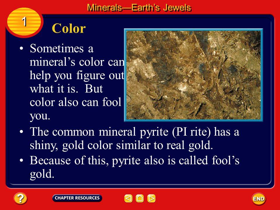 Minerals—Earth's Jewels