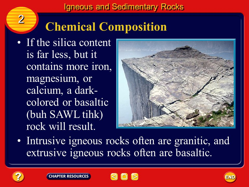 Igneous and Sedimentary Rocks