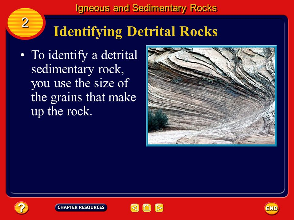 Identifying Detrital Rocks
