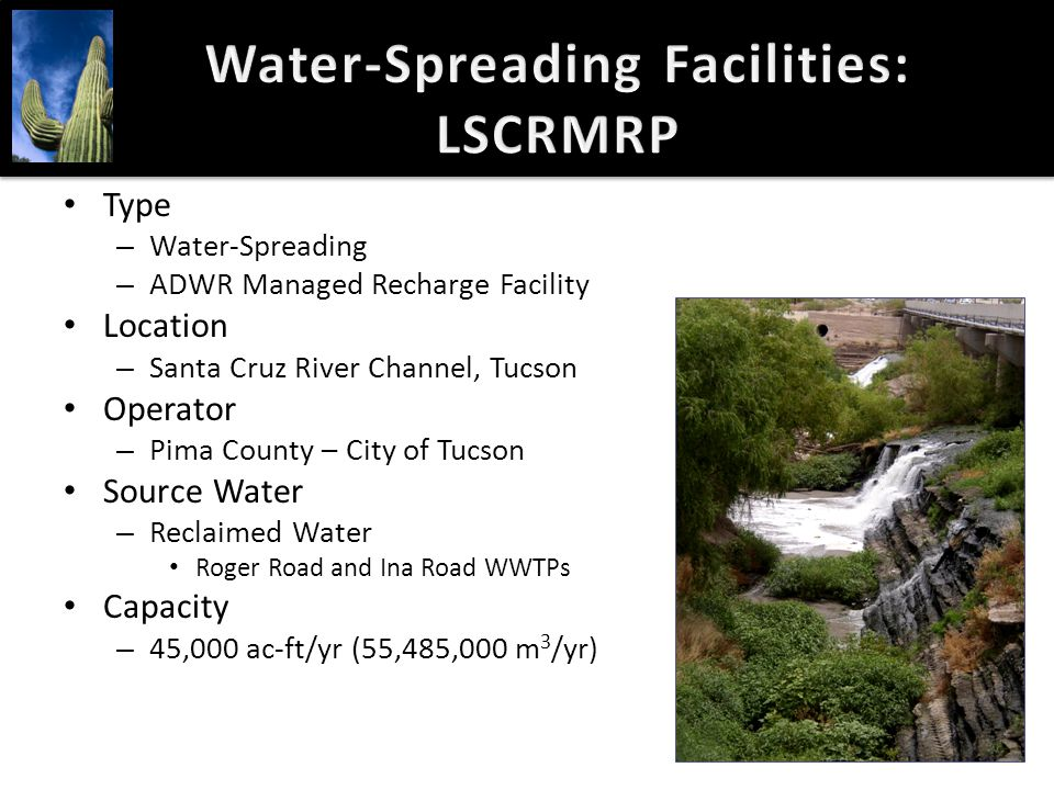 Water-Spreading Facilities: LSCRMRP