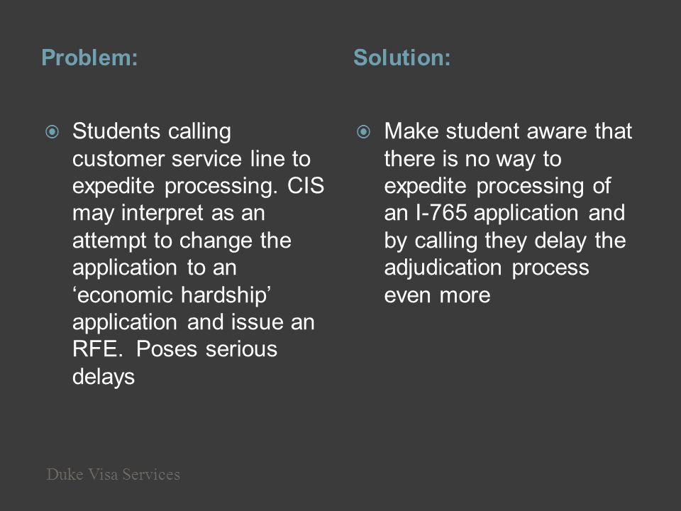 Problem: Solution: