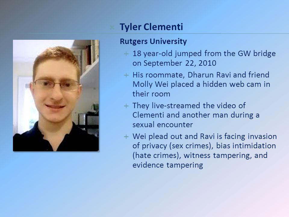 Tyler Clementi Rutgers University