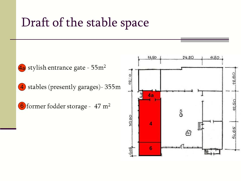 Draft of the stable space