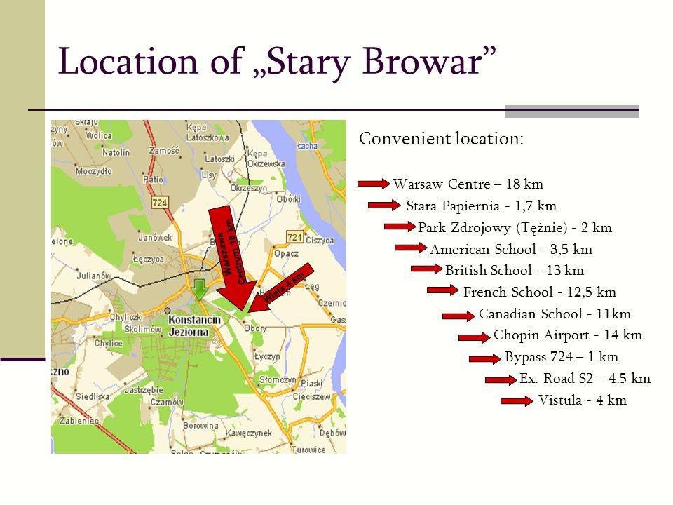 "Location of ""Stary Browar"