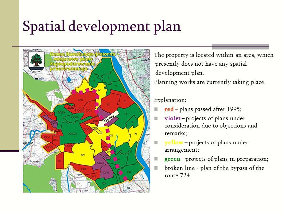 Spatial development plan