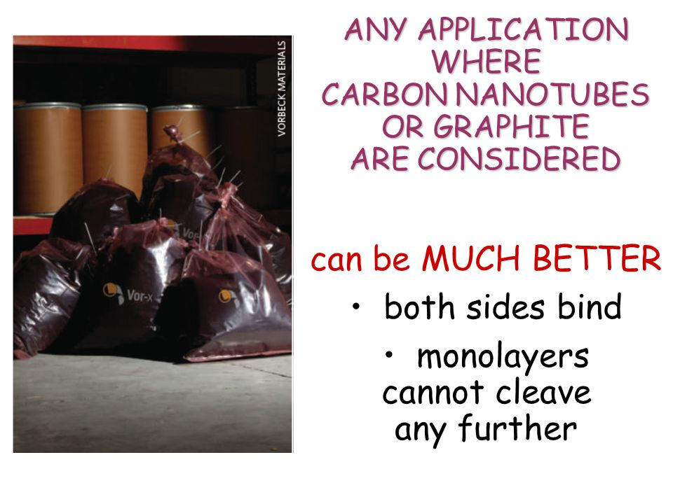CARBON NANOTUBES OR GRAPHITE