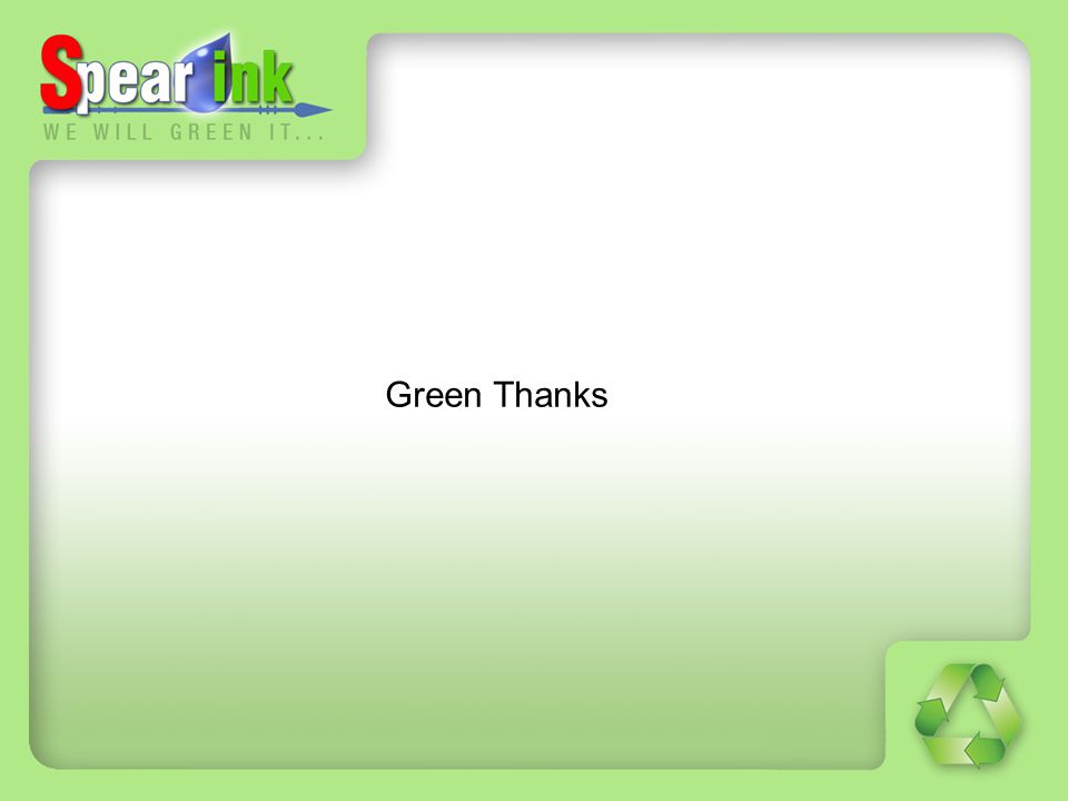 Green Thanks