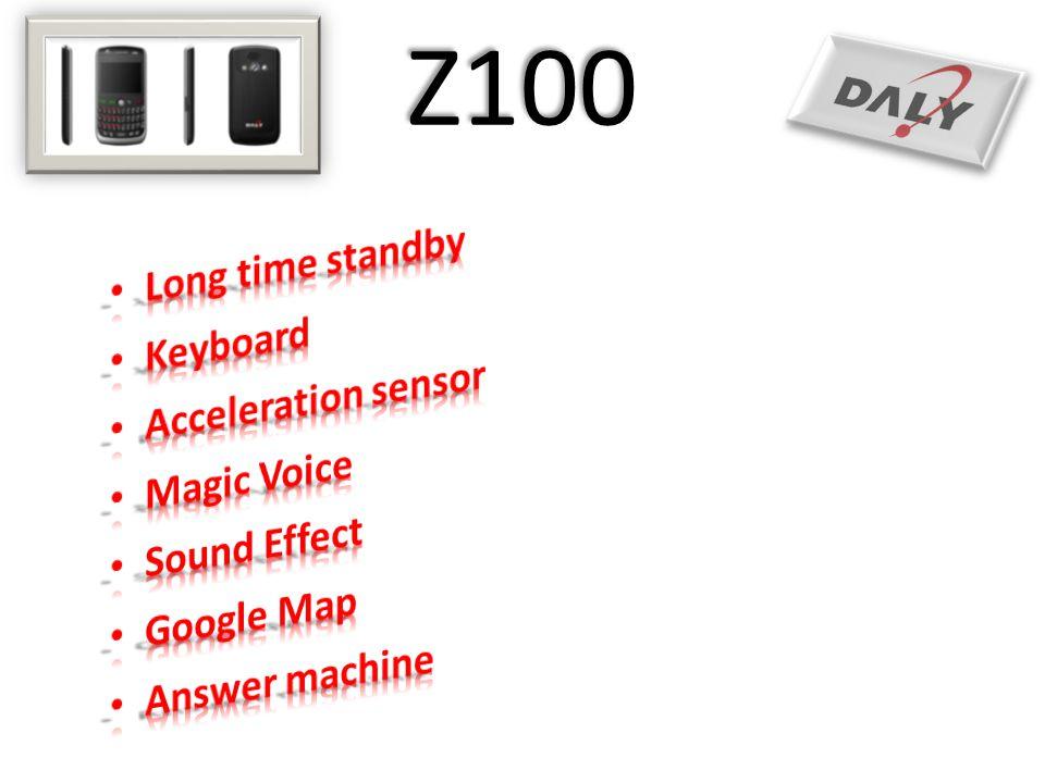 Z100 Long time standby Keyboard Acceleration sensor Magic Voice