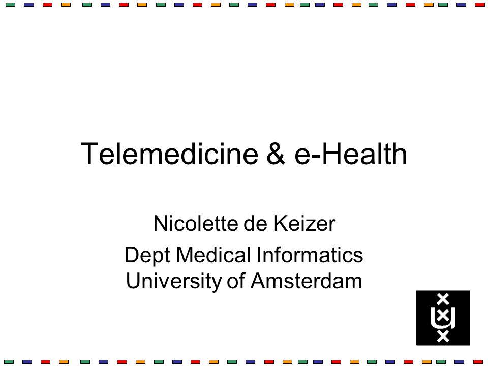 Telemedicine & e-Health
