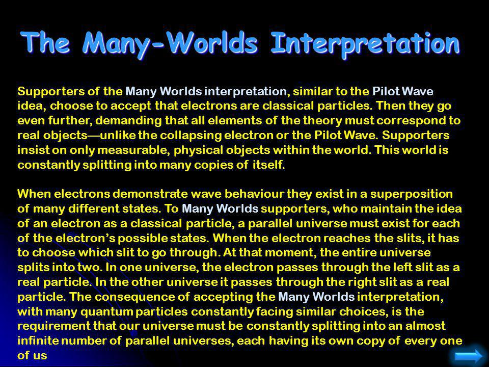 The Many-Worlds Interpretation