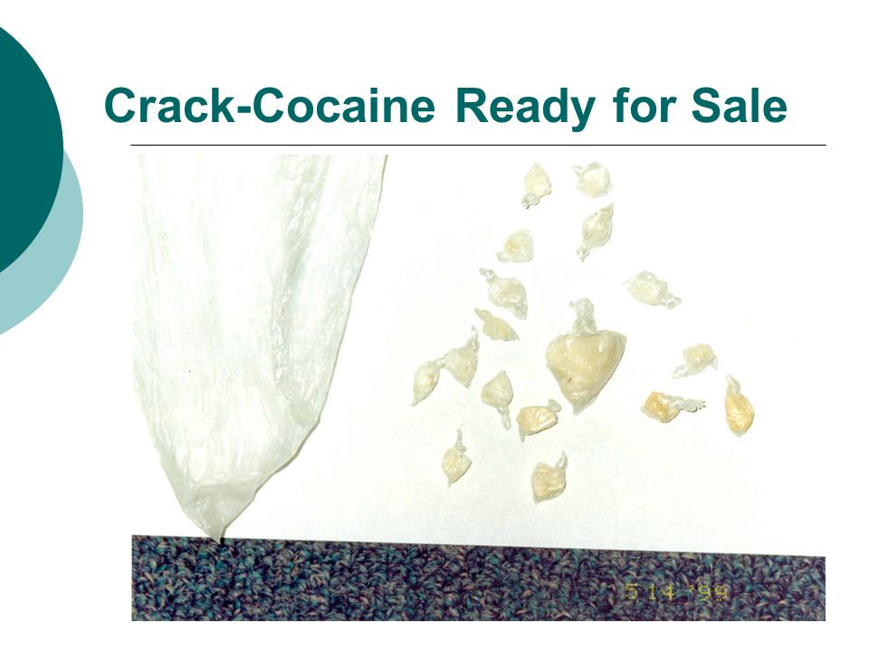 Crack-Cocaine Ready for Sale
