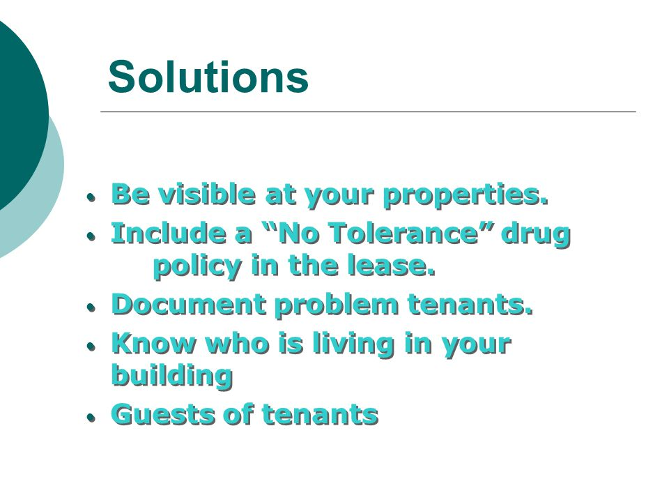 Solutions Be visible at your properties.