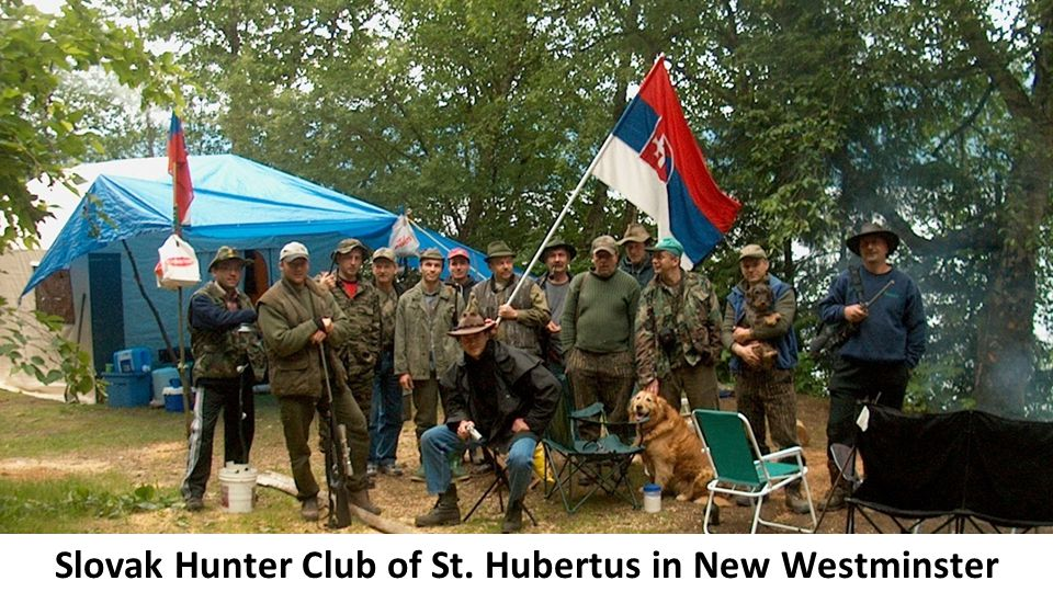 Slovak Hunter Club of St. Hubertus in New Westminster
