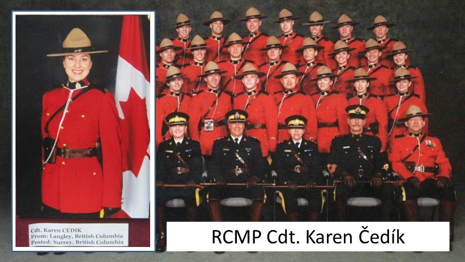 RCMP Cdt. Karen Čedík