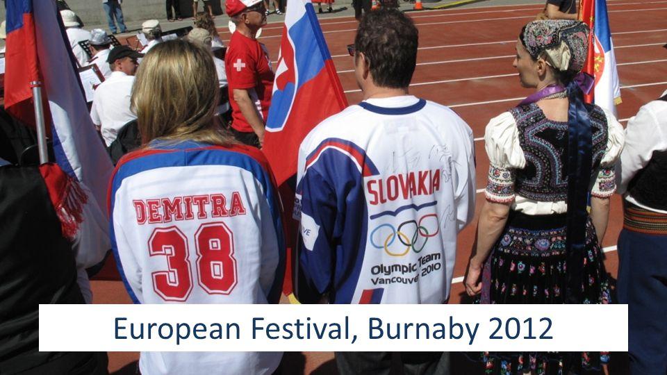 European Festival, Burnaby 2012