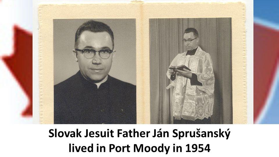 Slovak Jesuit Father Ján Sprušanský