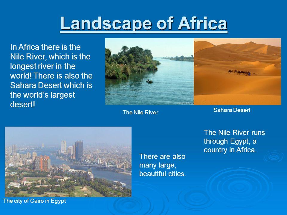 Landscape of Africa