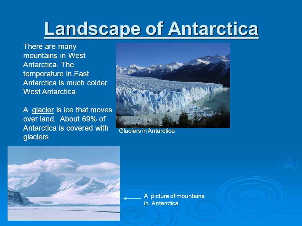 Landscape of Antarctica