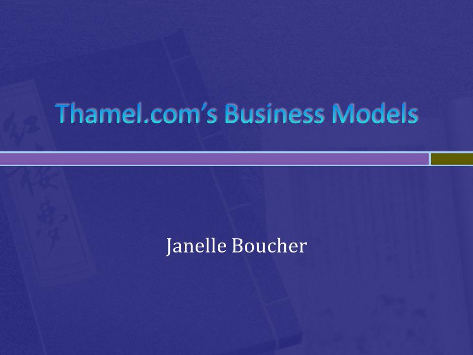 Thamel.com's Business Models