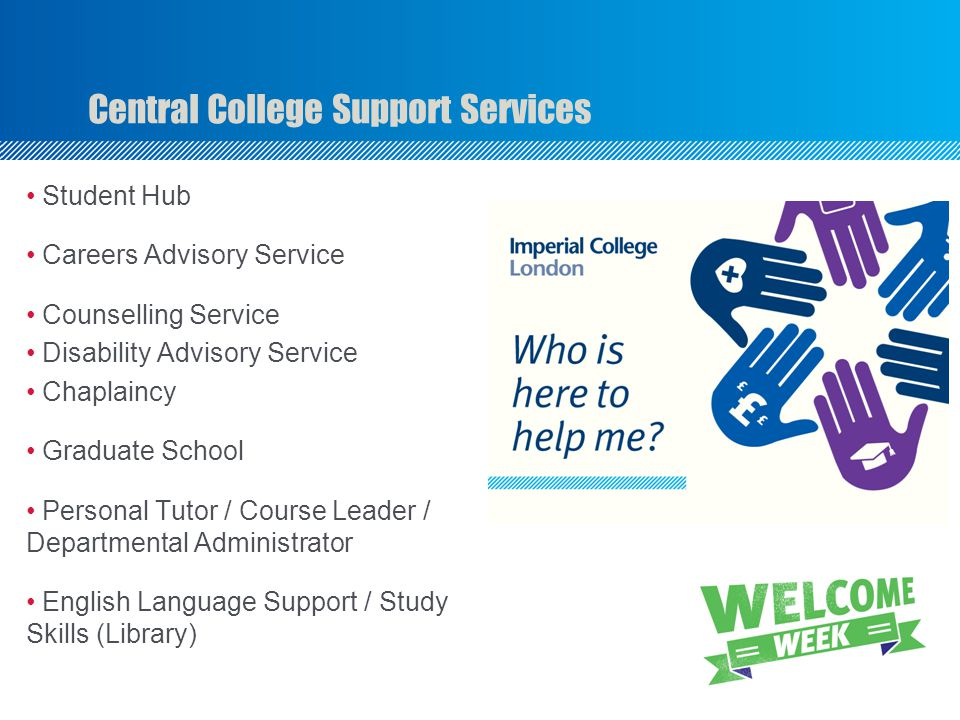 Central College Support Services