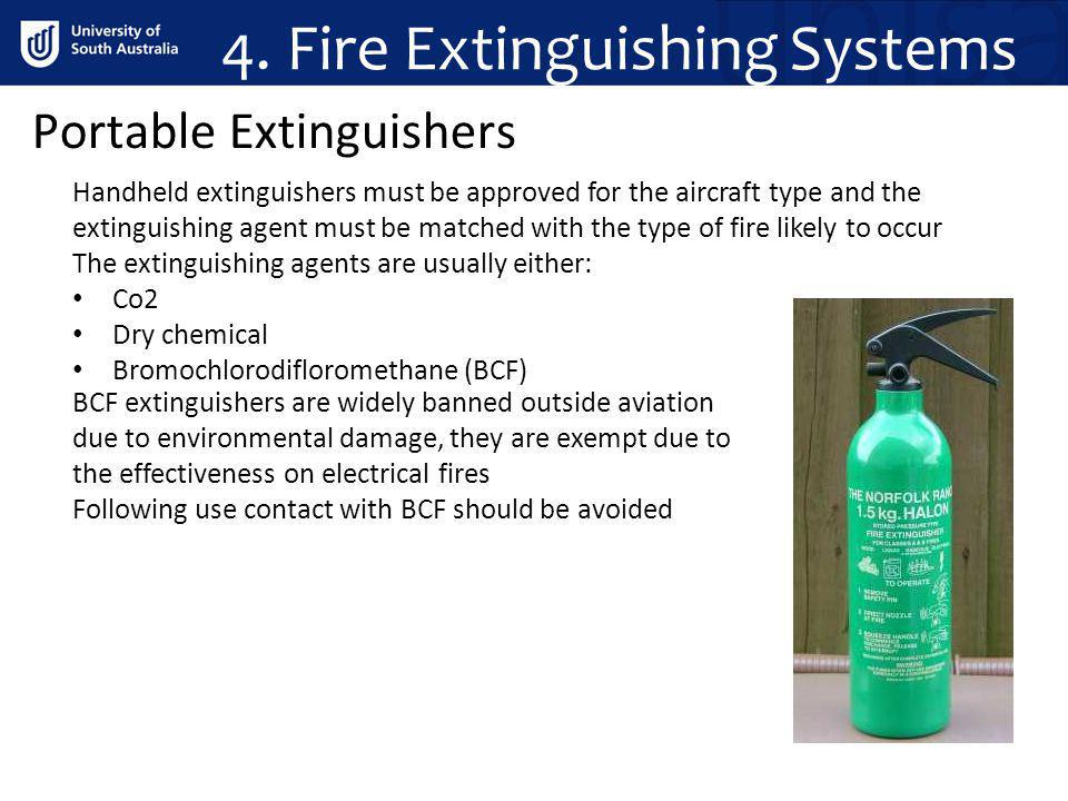 4. Fire Extinguishing Systems